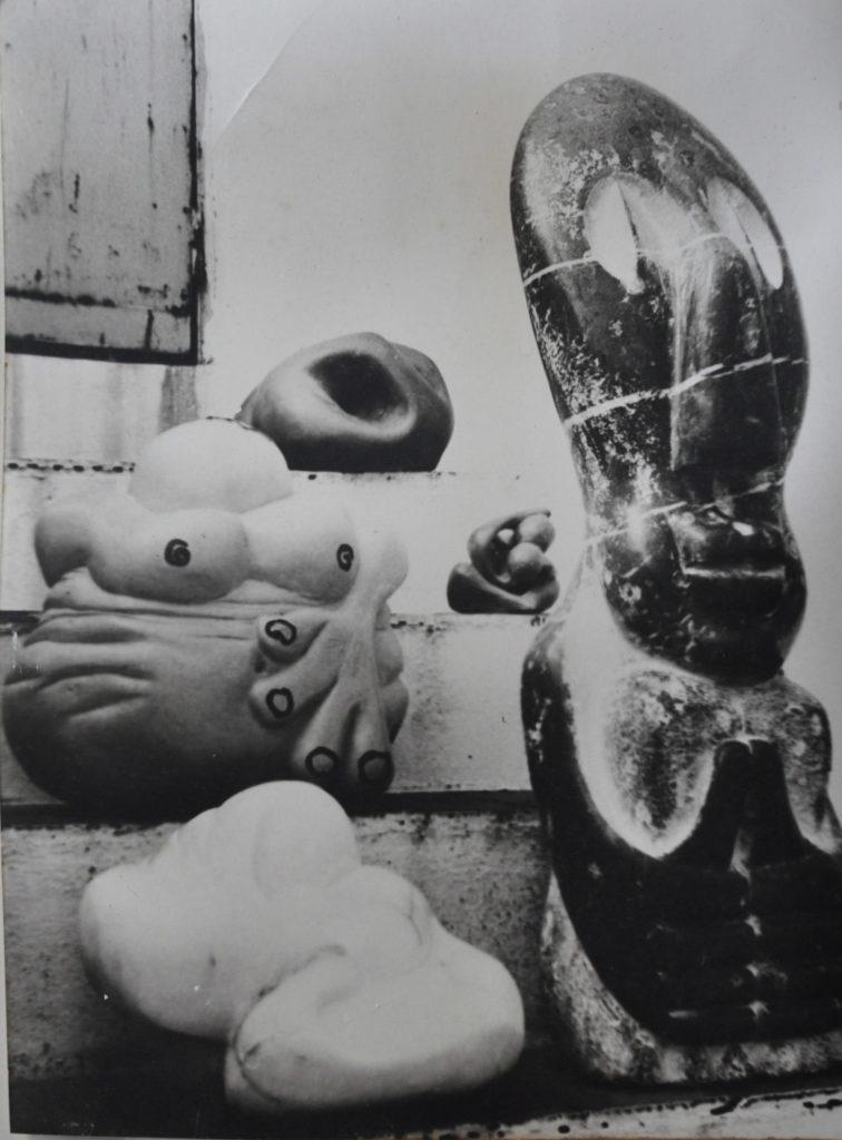 Bego Otero, Begoña Otero Méndez, esculturas