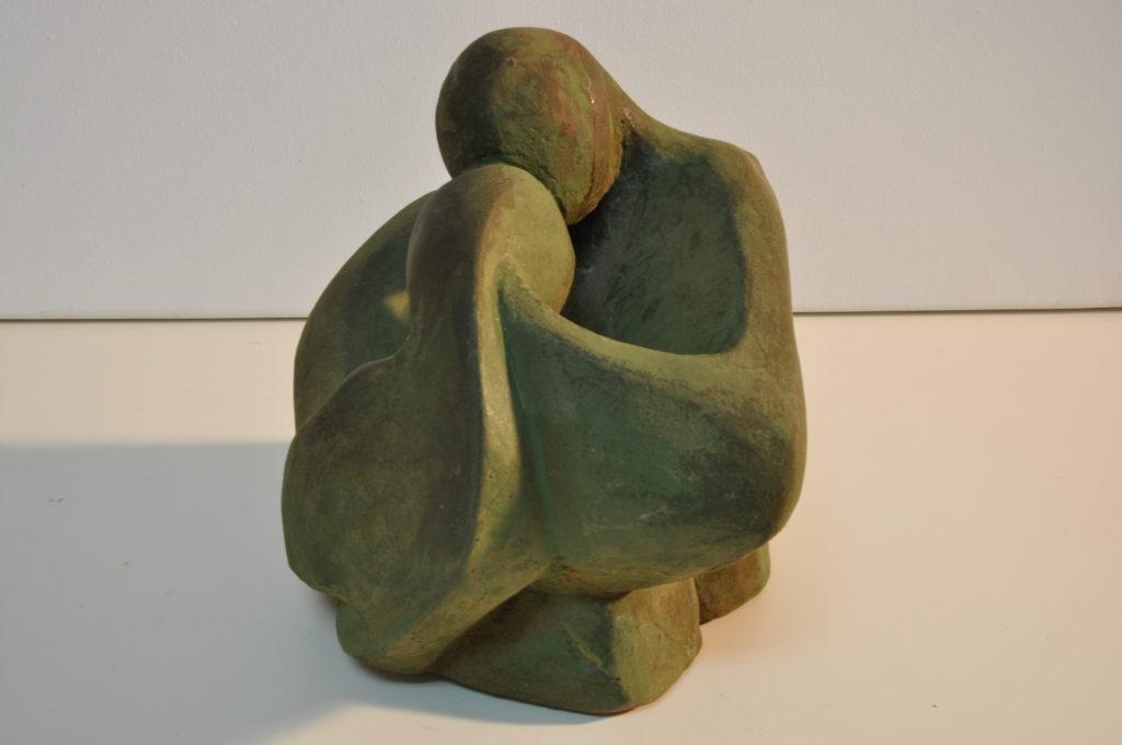 Sculture Reconciliation/Escultura Reconciliación.