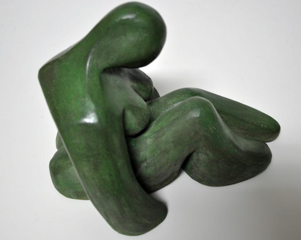 Escultura en gres cerámico. 2012. Bego Otero