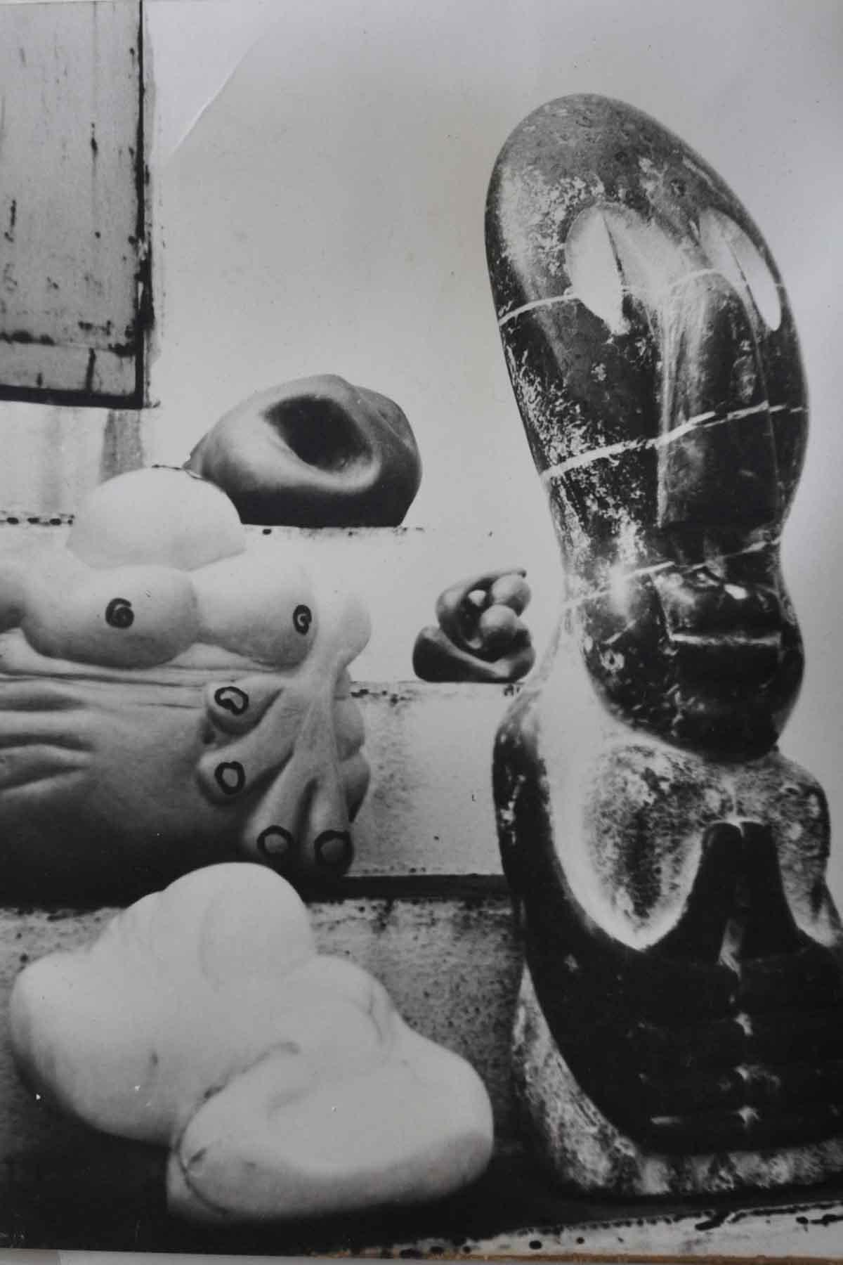 Bego Otero, esculturas.